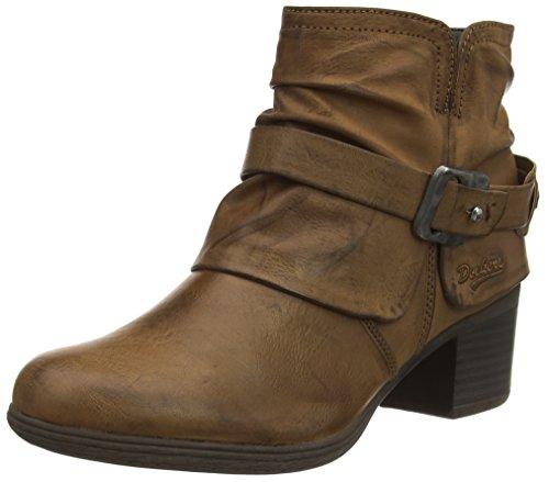 Dockers 35CP307 - botas de combate de material sintético mujer marrón - Braun (hellbraun 340)