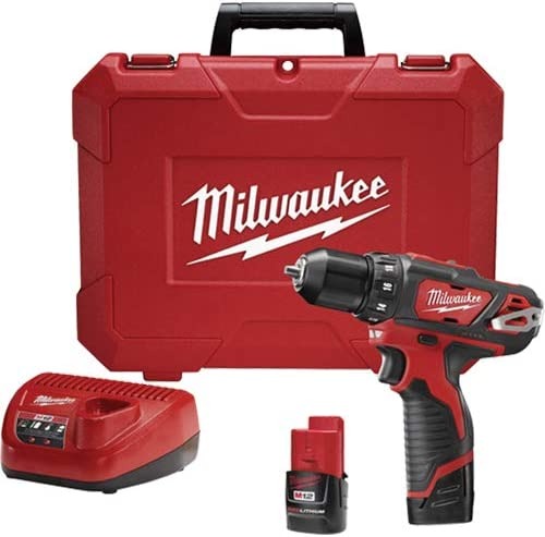 Milwaukee Electric Tools Drill Driver Kit 3 8In M12 2407-22