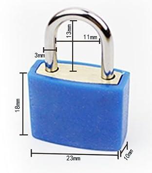 J*myi 1 Deep Blue cadenas de valise