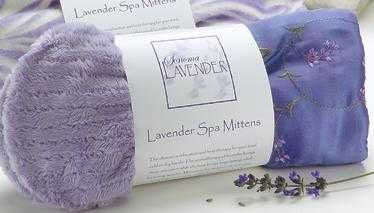 Sonoma Lavender - Lilac Embroidered Spa (Embroidered Mittens)