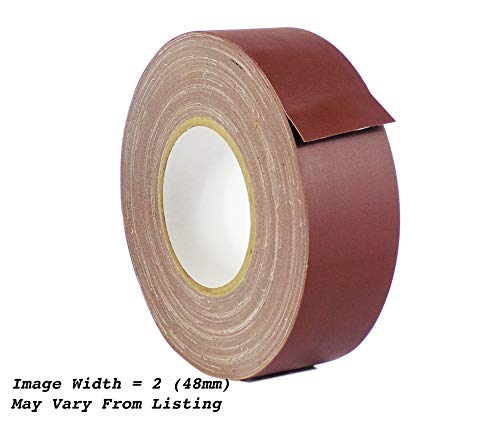 (WOD CGT-80 Burgundy Gaffer Tape Low Gloss Finish Film, Residue Free, Non Reflective Gaffer, Better than Duct Tape (Available in Multiple Sizes & Colors): 2 in. X 60 Yards (Pack of 1))