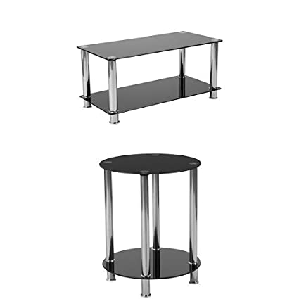 Amazoncom Flash Furniture Riverside Collection 3 Piece Coffee And