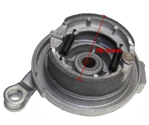 Front Wheel Hub Drum brake Cover w//shoes compatible with Motovox MVX70 Pit Bike part #:10049