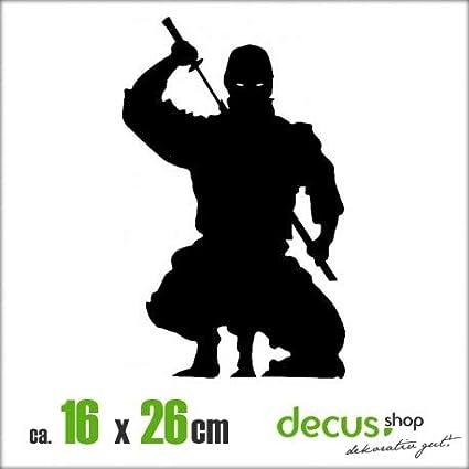Decus Pegatina con diseño Ninja XL 1415: Amazon.es: Coche y moto