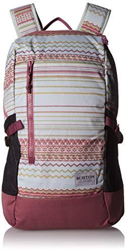 Burton Prospect 2.0 Backpack, Aqua Gray Revel Stripe Print from Burton