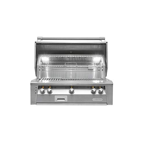 (Alfresco Built-in Grill with Rotisserie and Sear Zone (ALXE-36SZ-LP), Propane, 36-Inch)