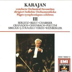 Herbert von Karajan, Philharmonia Orchestra, Berlioz Bizet Chabrier