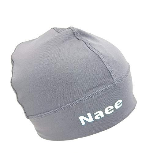 NAEE Helmet Liner Skull Cap Beanie Cycling Beanie with Reflective Logo (Grey)