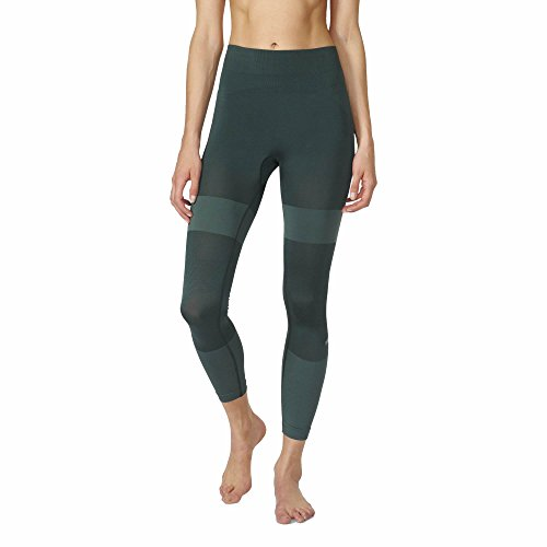 Women's Stella McCartney Seamless Yoga Tight-Deepest Green-US SIZE M