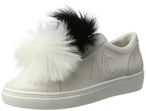 Marc Cain HB Sh.12 L32, Sneaker Donna Multicolore (White And Black 190)