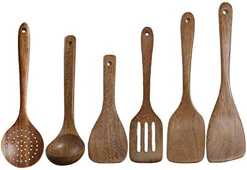 Kitchen Utensils Set Wooden Nonstick Cookware product image