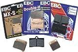 01-02 SUZUKI GSXR1000: EBC HH BRAKE PADS - FRONT (BLACK)