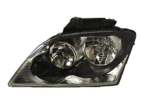 Chrysler Pacifica Headlight Oe Style Halogen Headlamp Left Driver Side - Chrysler Pacifica Headlight Replacement