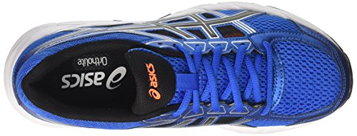 ASICS Men's Gel-Contend 4 Running Shoe Directoire Blue/Black/Hot Orange cheap original free shipping cheapest price outlet 2015 prices for sale mLCatVDXsi