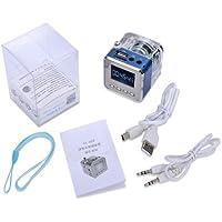 NiZHi TT-029 MP3 Mini Digital Portable Music Player Micro SD USB FM Radio (Blue)