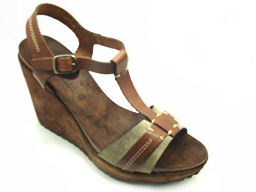 Sandalo 10 Donna Tmoro Noir 8 Zeppaeb120 Cafè 122 I4q6TwB