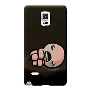 Icase88 Samsung Galaxy Note 4 Perfect Hard Phone Case Unique Design Realistic The Binding Of Isaac Series [SrS2309jOCa]