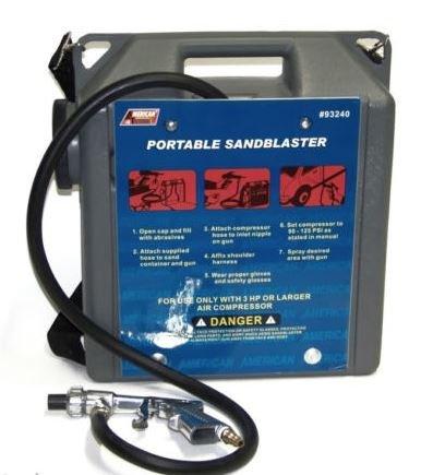 Air Tool Sandblaster (ATE Pro. USA 93240 Portable Air Sandblaster Kit, 14.57