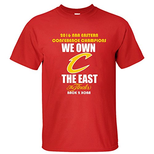 WDFO 2016 We Own First Championship Trophy Custom Men T Shirt Cotton red XXL