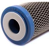 """10"""" Wasserfilter Kartusche CTO Aktivkohle 1µm WQA Zertifiziert"""