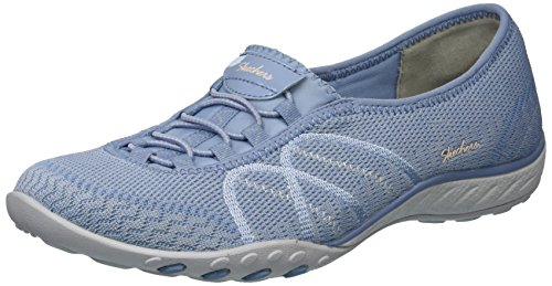 Sweet Sneaker Skechers Easy Women's Breathe Blue Jam 1tqa0t
