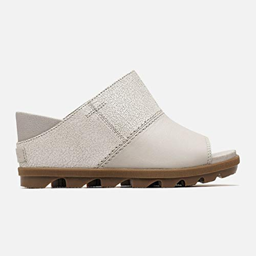 SOREL - Women's Joanie II Slide-Crackle Sandals, Size: 7.5 B(M) US, Color: Dove (Crackle Footwear)