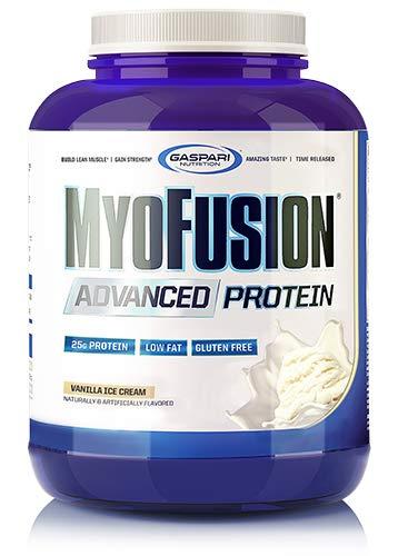 Gaspari Nutrition Myofusion Advanced Protein  Vanilla Ice Cream   4 lbs by Gaspari Nutrition