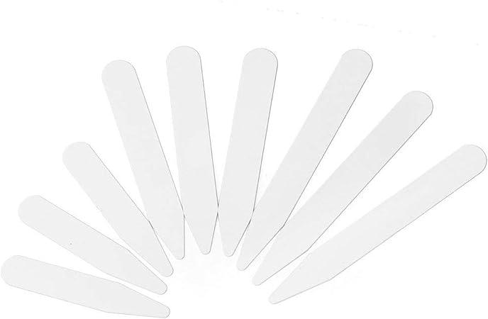 Ecloud Shop® Ballenas para Cuello Camisa Hombre CASA PLÁSTICO Blanco: Amazon.es: Hogar