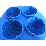 Silicone Drink Tray Cool Brain Shape Ice Cube Freeze Mold Ice Bar Maker Mould