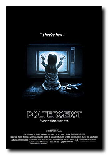 (Mile High Media Poltergeist Movie Poster 24x36 Inch Wall Art Portrait Print)