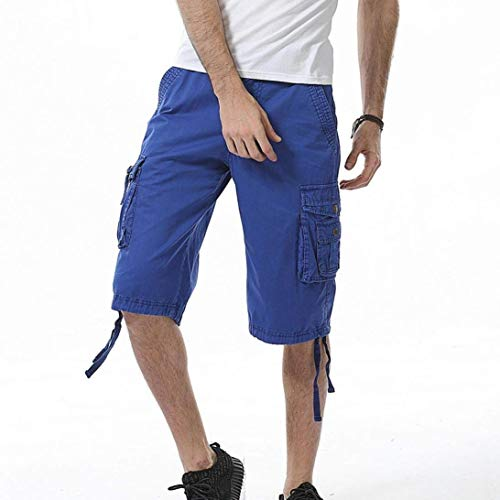 Spiaggia Abiti Fashion Hx Puro Taglie Da Blau Comode Colore Uomo Lavoro Uomo Pantaloni xwAFq0wP