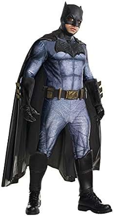 Rubie's Men's Batman v Superman: Dawn of Justice Grand Heritage Batman Costume, Multi, X-Large