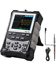 Proster Digital Oscilloscope 2.4 inch LCD Display Screen with 120MHz Bandwidth Professional Function Handheld Oscilloscope Portable Oscilloscope 500MS/s Sampling Rate