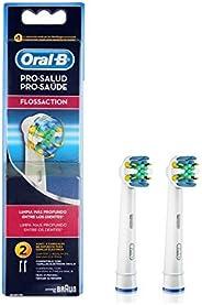 Refil Para Escova Elétrica Oral-B Flossaction - 2 Unidades, Oral-B
