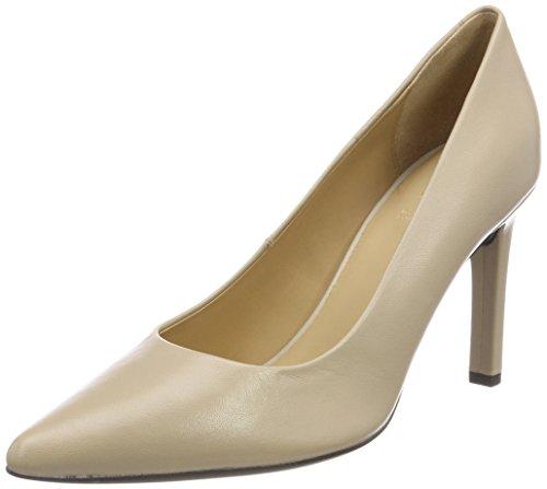 Mujer de Rosa Skin Geox Faviola C para D Tacón Zapatos xf0qg7IB