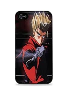Trigun Vash The Stampede Apple iPhone 4/4S Hardshell Case - Black -126