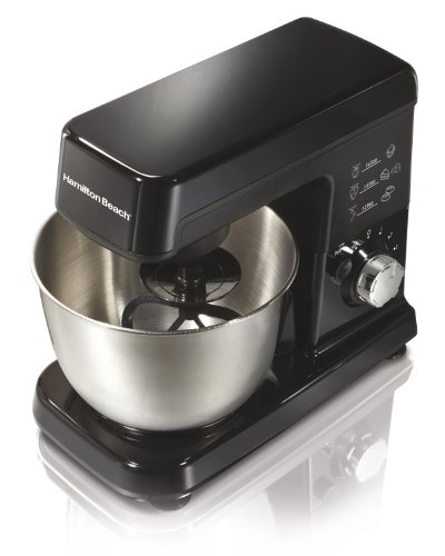Hamilton Beach 63325 Stand Mixer - 300 W - Black