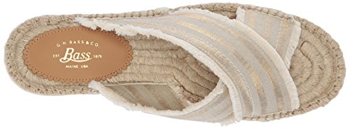 Women's Gold Ivory Anabelle H G Bass Sandal fCwOAFq
