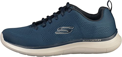 Uomo 52389 Sneakers Grey Skechers Navy NVGY E1SSdq