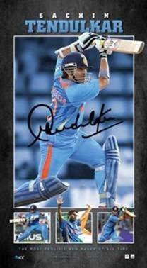 ICC Official Memorabilia Sachin Tendulkar Pride A