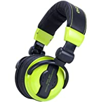 American Audio Hp550 Green Foldable Professional Headphones