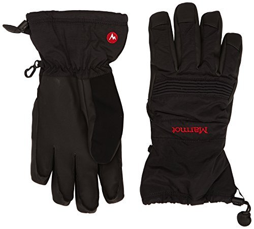 [Marmot Vertical Descent Glove Mens (Large, Black)] (Marmot Mens Work Gloves)