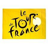 Official Tour de France Flag - Yellow