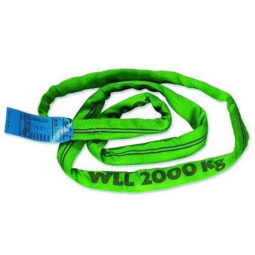 Braun 20011RS recupero strap loop carico 2000kg 1m continuo con nucleo in poliestere verde Braun GmbH