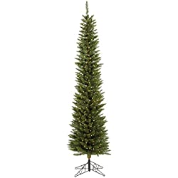 Vickerman 55' Durham Pole Pine Artificial Christmas Tree with 150 Clear lights