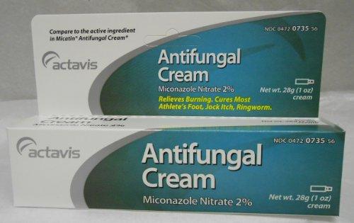 Micatin Antifungal (Alpharma Miconazole Nitrate 2% Antifungal Cream - 1)
