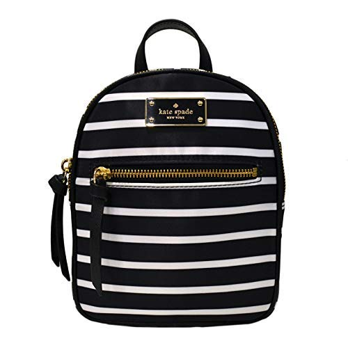 Kate Spade New York Women's Mini Bradley Wilson Road French Sripe Backpack No Size (Blackmulti)