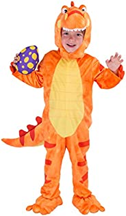 Spooktacular Creations T-Rex Deluxe Kids Dinosaur Costume for Halloween Child Dinosaur Dress Up Party, Role Pl