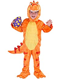 T-Rex Deluxe Kids Dinosaur Costume for Halloween Child Dinosaur Dress Up Party, Role Play and Cosplay