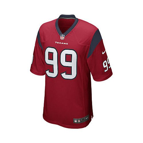 Nike NFL Houston Texans JJ Watt Jersey Large Red